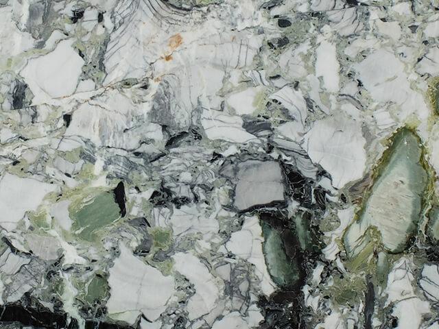 Đá Marble Ice Green