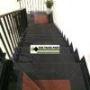 cầu thang ốp đá đen campuchia