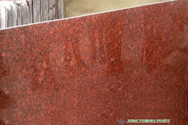 tấm đá đỏ ruby brazil