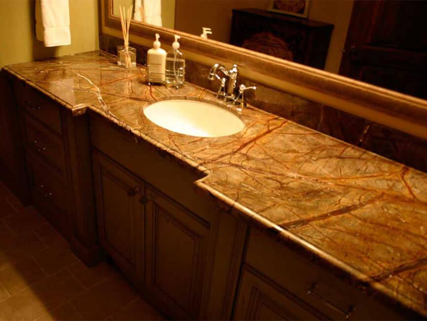 đá marble vàng ấn độ