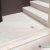 cầu thang đá trắng polaris