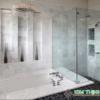 lavabo đá Carrara marble