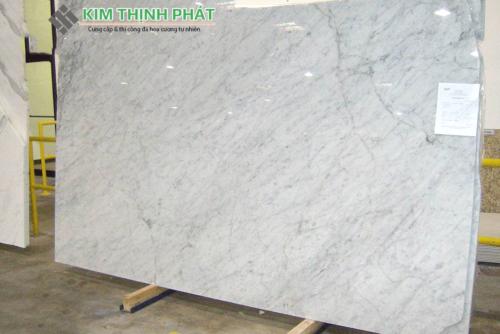 tấm đá carrara marble trắng