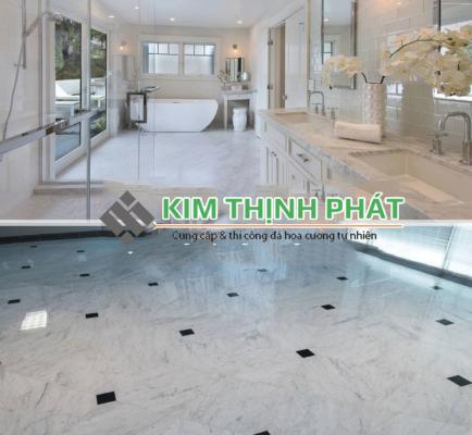 sàn nhà đá Carrara marble