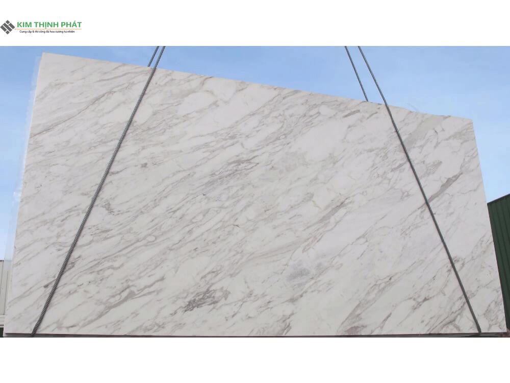 tấm đá trắng volakas