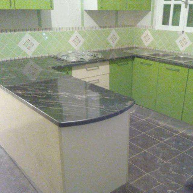 Bàn Bếp Đá Granite Đen Brazil