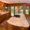 Bàn Bếp Đá Granite Vàng Hoàng Gia