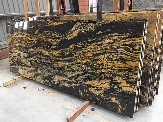 Đá Granite vàng Magma