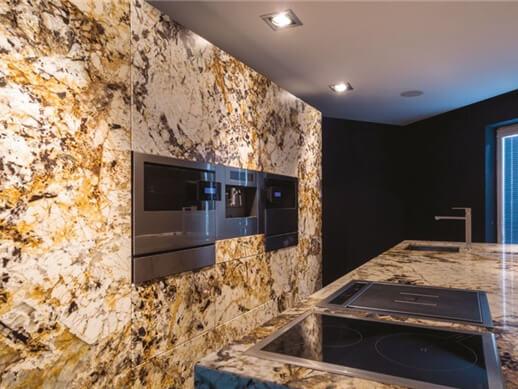 Đá Granite Vàng Delicatus