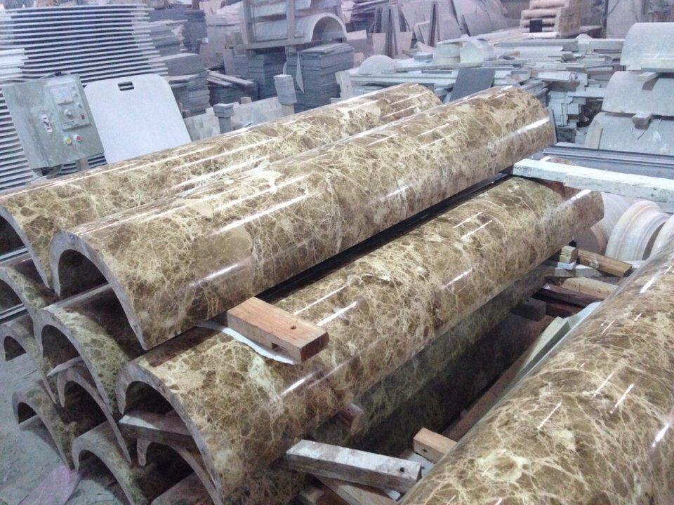 Các mẫu cột ốp đá hoa cương tại Kim Thịnh Phát chuẩn bị thi công