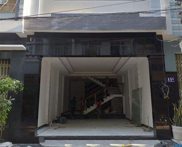 mẫu ốp đá mặt tiền nhà phố