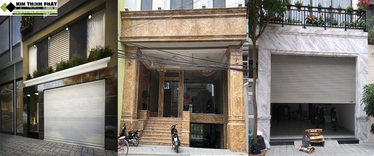 ốp đá mặt tiền nhà phố
