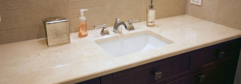 mẫu bàn đá lavabo nhân tạo