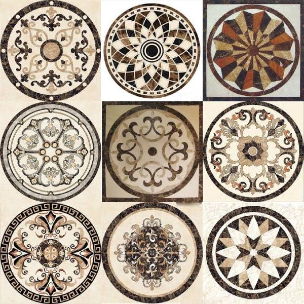 hoa văn đá trang trí