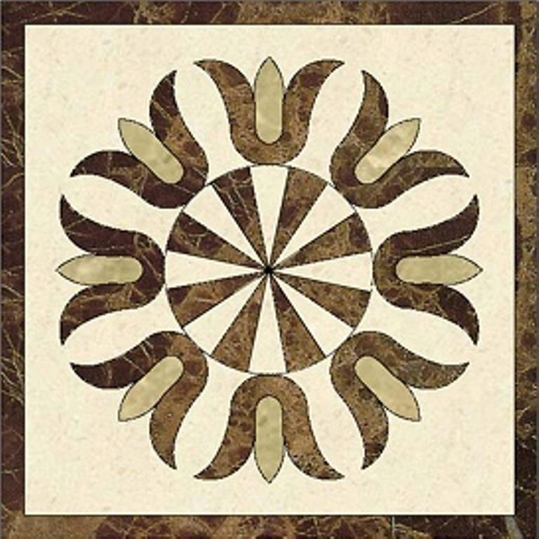 hoa văn đá hình vuông