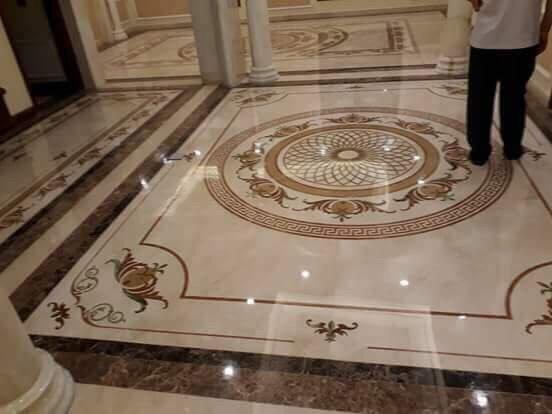 hoa văn đá lát sàn