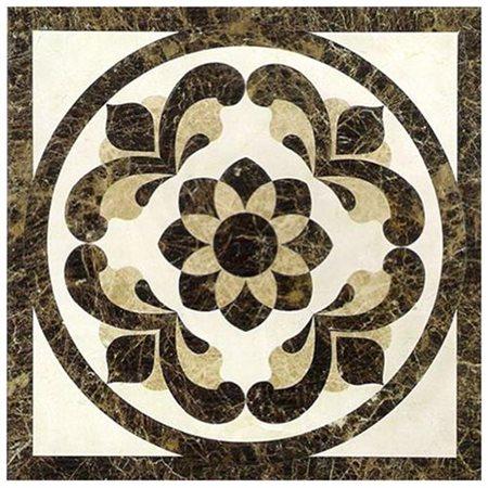 hoa văn đá marble hình tròn