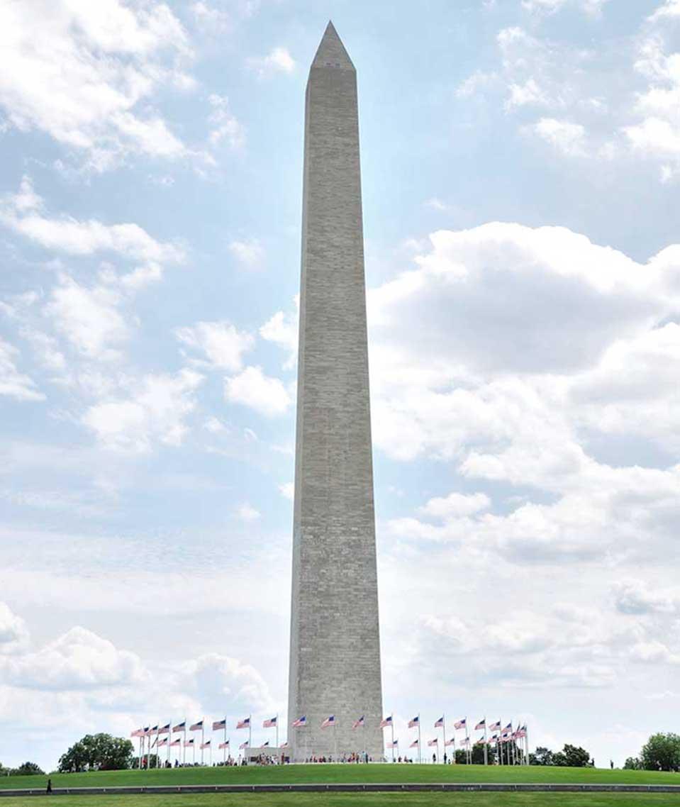Công trình ĐÀI TƯỞNG NIỆM WASHINGTON Ở WASHINGTON DC