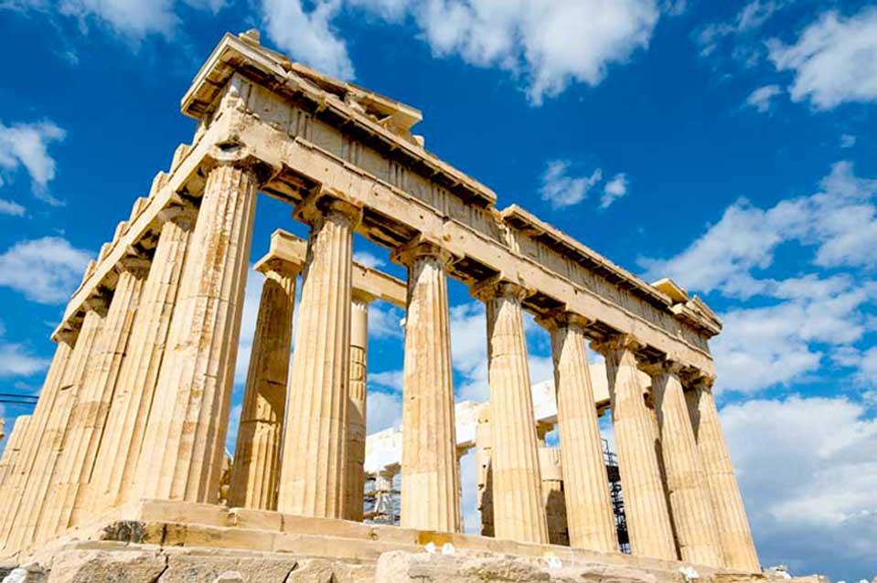 Công trình PARTHENON Ở ATHENS, HY LẠP
