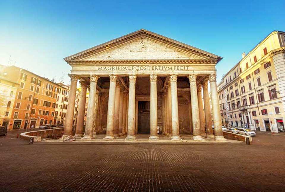 Công trình ĐIỆN PANTHEON Ở ROME, Ý