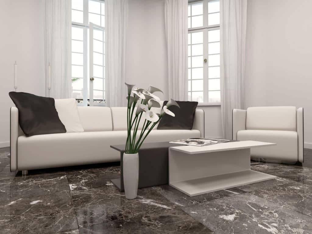 sàn nhà bằng đá marble