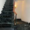 cầu thang đá Marble xanh tia chớp