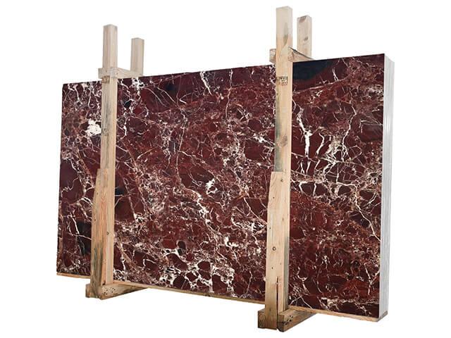 Mẫu đá Marble màu đỏ huyết dụ