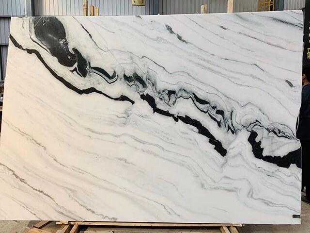 Tấm đá Marble màu trắng tự nhiên