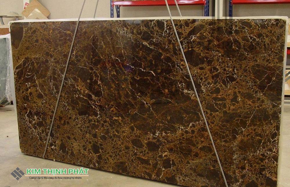 Tấm Mẫu đá Marble nâu tây ban nha