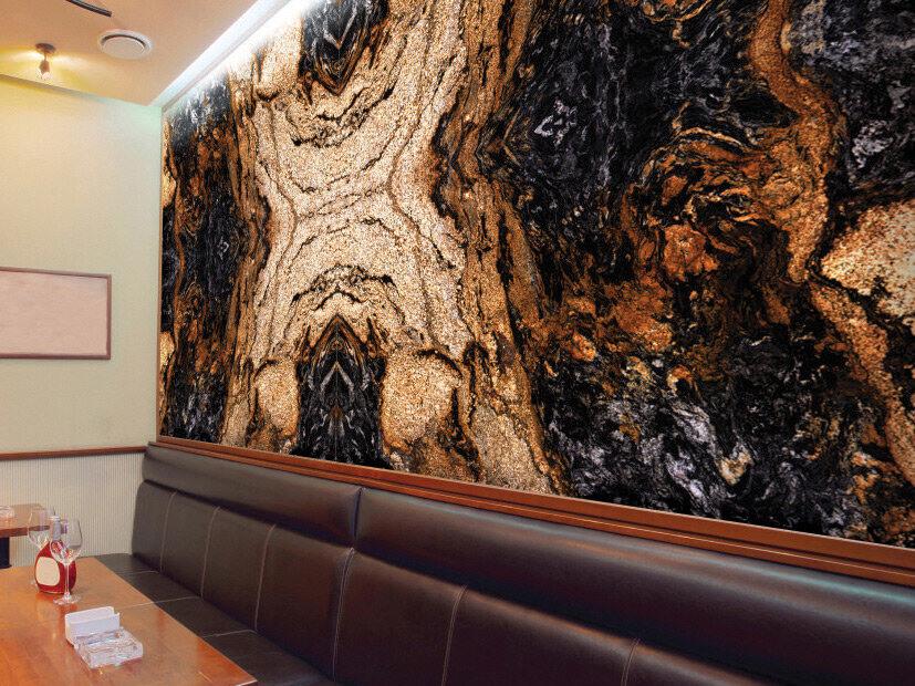 Công trình Đá Granite Magma Gold
