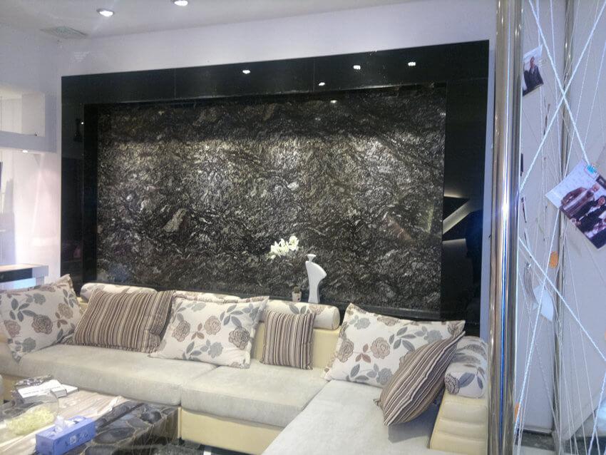 Ốp tường Tấm Đá Granite Đen Cianitus