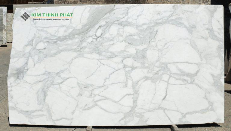 Tấm đá marble trắng Ý
