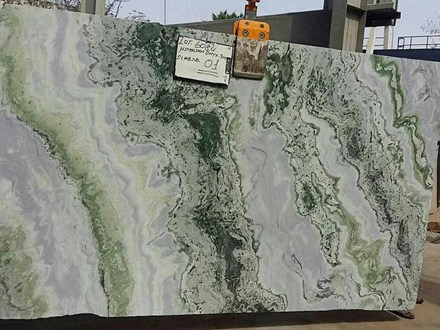 Tấm đá marble xanh ngọc