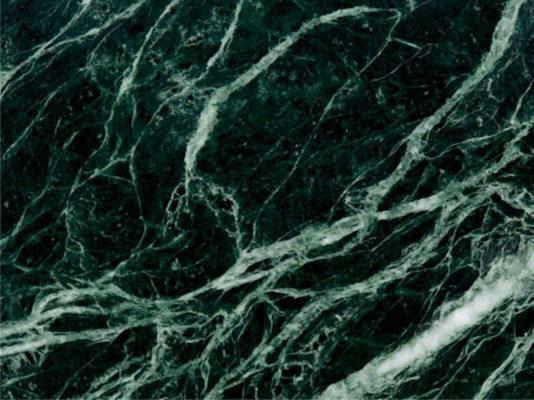 Mẫu đá marble xanh rễ cây
